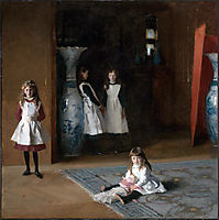 The Daughters of Edward Darley Boit, 1882, sargent
