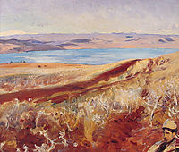 The Dead Sea, 1905, sargent