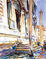 Doorway of a Venetian Palace, 1907, sargent