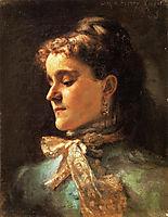 Emily Sargent, 1877, sargent