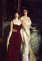 Ena and Betty, Daughters of Asher and Mrs. Wertheimer, 1901, sargent