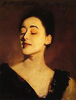 Flora Priestley (also known as Lamplight Study), c.1889, sargent