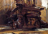 Fountain at Bologna, 1906, sargent