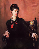 Frances Sherborne, Fanny) Ridley Watts, 1877, sargent