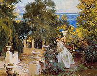 A Garden in Corfu, 1909, sargent