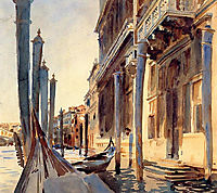 Grand Canal, Venice, 1907, sargent