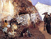 Gypsy Encampment, c.1912, sargent