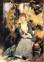 Henrietta Reubell, c.1885, sargent