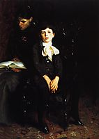 Homer Saint Gaudens and His Mother, 1890, sargent