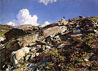 In the Alps, sargent