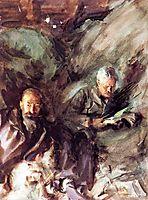 In a Hayloft, c.1907, sargent