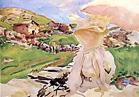 In the Simplon Pass, c.1910, sargent