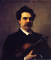 Johannes Wolff, c.1897, sargent