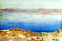 The Lake of Tiberias, sargent