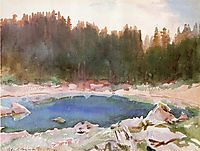 Lake in the Tyrol, sargent