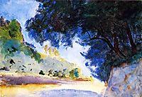 Landscape, Olive Trees, Corfu, 1909, sargent