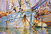In a Levantine Port, 1905-1906, sargent