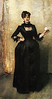 Louise Burckhardt (also known as Lady with a Rose), 1882, sargent