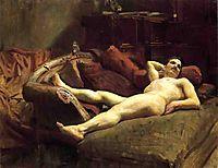 Male Model Resting, c.1895, sargent