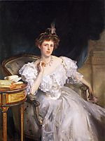 Margherita Goldsmid, later Mrs Raphael, 1906, sargent