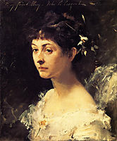 Mary Turner Austin, 1878, sargent
