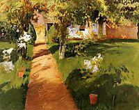 Millet-s Garden, 1886, sargent
