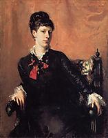 Miss Frances Sherborne Ridley Watts, 1877, sargent