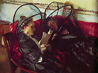Mosquito Nets, 1908, sargent
