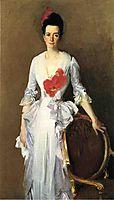 Mrs. Archibald Douglas Dick (nee Isabelle Parrott), 1886, sargent
