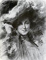 Mrs. Charles Hunter, c.1902, sargent