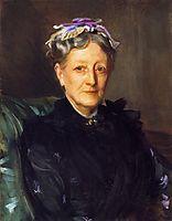 Mrs. Frederick Mead (Mary Eliza Scribner), c.1893, sargent