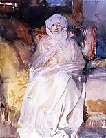 Mrs Gardner in White , 1922, sargent
