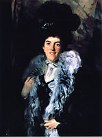 Mrs. John William Crombie (Minna Watson), c.1898, sargent