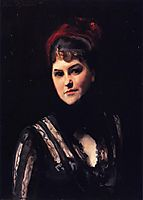 Mrs. Kate Moore, c.1884, sargent