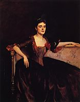 Mrs. Thomas Lincoln Manson Jr (Mary Groot), 1890, sargent
