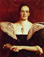 Mrs. William Russell Cooke, 1895, sargent