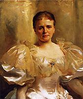 Mrs. William Shakespeare (Louise Weiland), c.1896, sargent