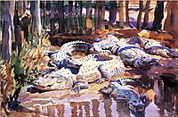 Muddy Alligators, 1917, sargent