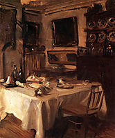 My Dining Room, 1885, sargent