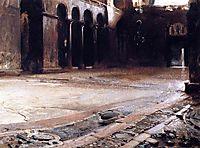 Pavement of Saint Mark-s, 1898, sargent