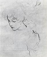 Polly Barnard (also known as study for Carnation, Lily, Lily, Rose), c.1885, sargent