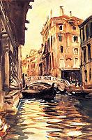 Ponte della Canonica, 1903, sargent