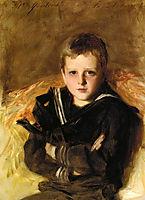 Portrait of Caspar Goodrich, 1887, sargent