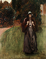 Portrait of Miss Clementina Anstruther Thomson, sargent