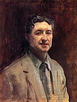 Portrait of Daniel J. Nolan, 1917, sargent