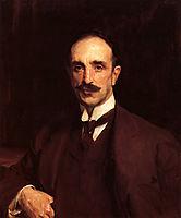 Portrait of Douglas Vickers, 1914, sargent