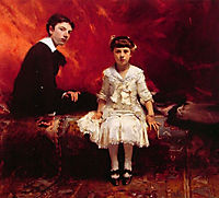 Portrait of Edouard and Marie-Louise Pailleron, sargent