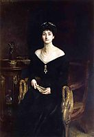 Portrait of Mrs. Ernest G. Raphael, nee Florence Cecilia Sassoon, 1905, sargent