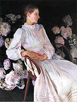 Portrait of Katharine Chase Shapleigh , 1890, sargent