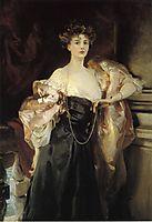 Portrait of Lady Helen Vincent, Viscountess d-Abernon, 1904, sargent